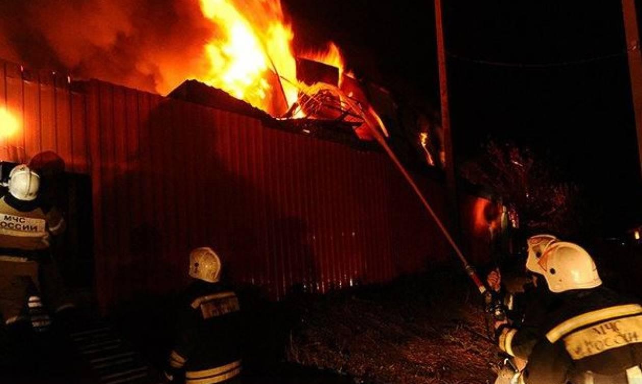Τραγωδία στη Ρωσία: Εφτά νεκροί από πυρκαγιά σε σπίτι