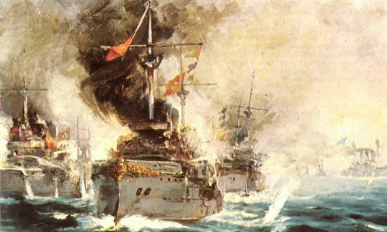 Σαν σήμερα το 1912 διεξάγεται η ναυμαχία της Έλλης
