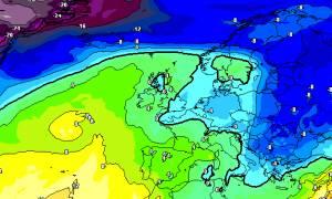 Καιρός: Ερχεται ψυχρή εισβολή με τσουχτερό κρύο και χιόνια (photos)