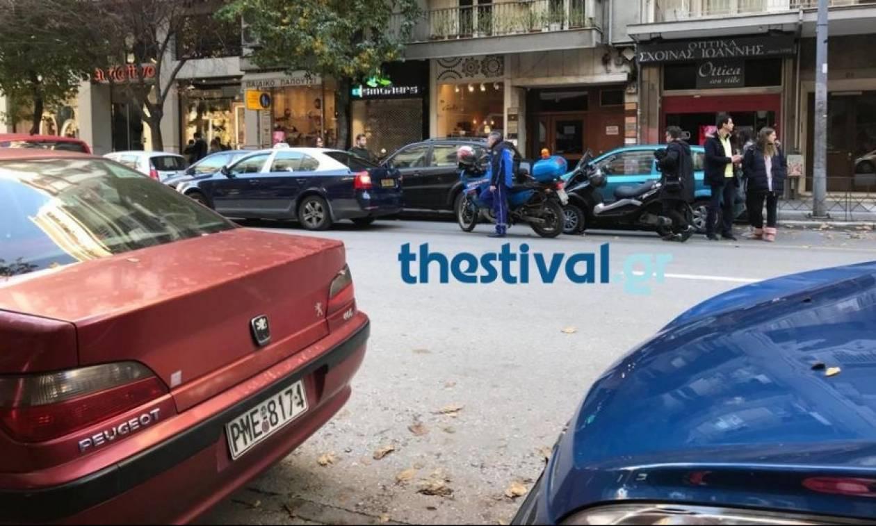 Τροχαίο με ένα τραυματία στη Θεσσαλονίκη