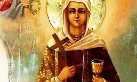 Τι συμβολίζει το ποτήρι που κρατά στις εικόνες η Αγία Βαρβάρα