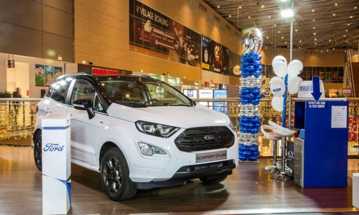 Δείτε πρώτοι από κοντά το νέο Ford EcoSport στο The Mall Athens
