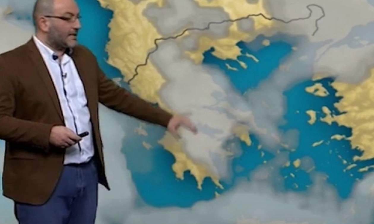 Σάκης Αρναούτογλου: «Προσοχή. Δεν υπάρχει χιονιάς...» (video)