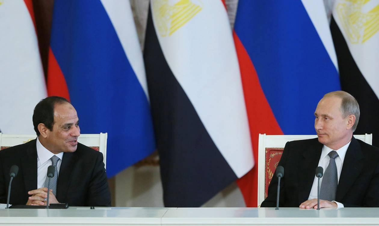 Президенты РФ и Египта удовлетворены успехами в ликвидации террористического очага в Сирии