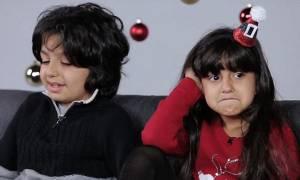 Δείτε πώς αντιδρούν τα παιδιά όταν μαθαίνουν την αλήθεια για τον Άγιο Βασίλη - Φοβερό βίντεο