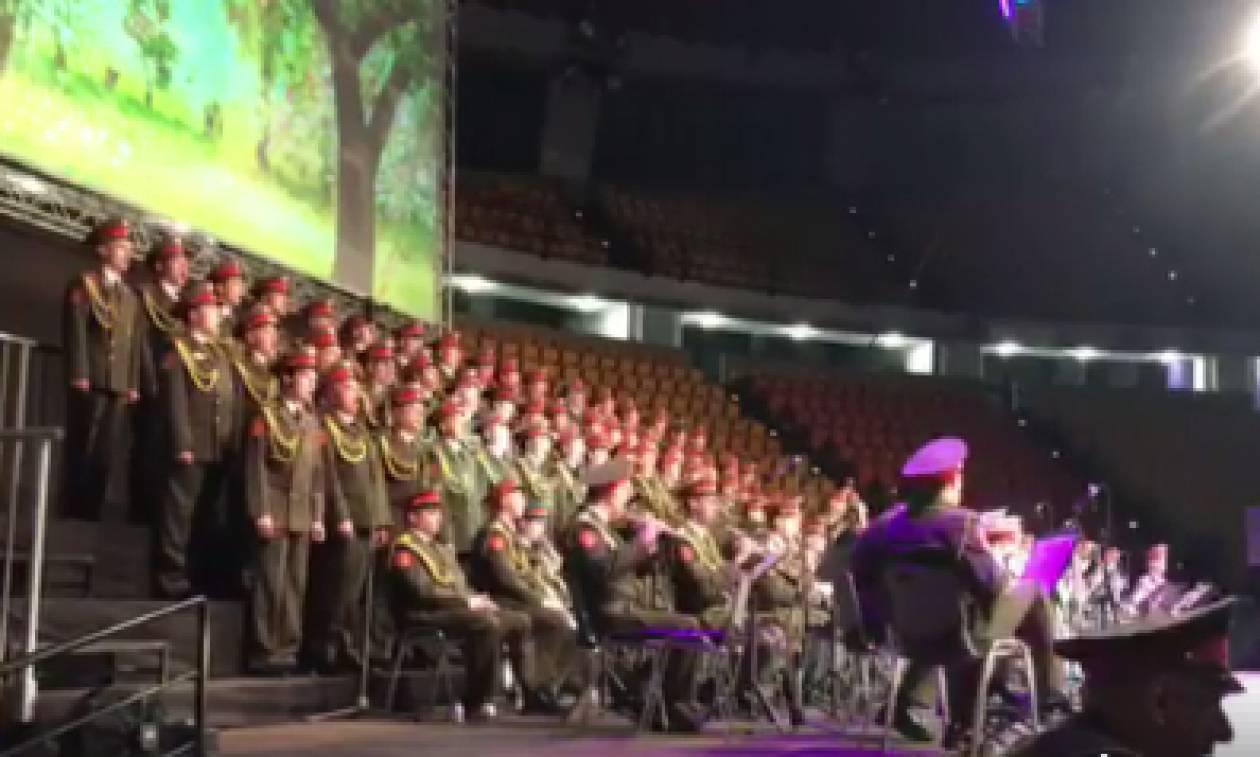В Афинах состоялось выступление ансамбля им.Александрова