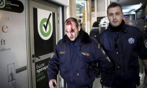В Греции несколько участников протестов получили травмы в ходе столкновения с полицией