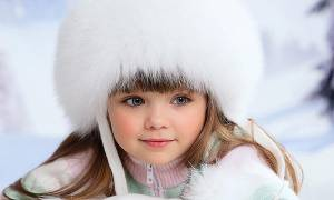 Αυτή είναι η 6χρονη από τη Ρωσία που θεωρείται το πιο όμορφο κορίτσι στον κόσμο!