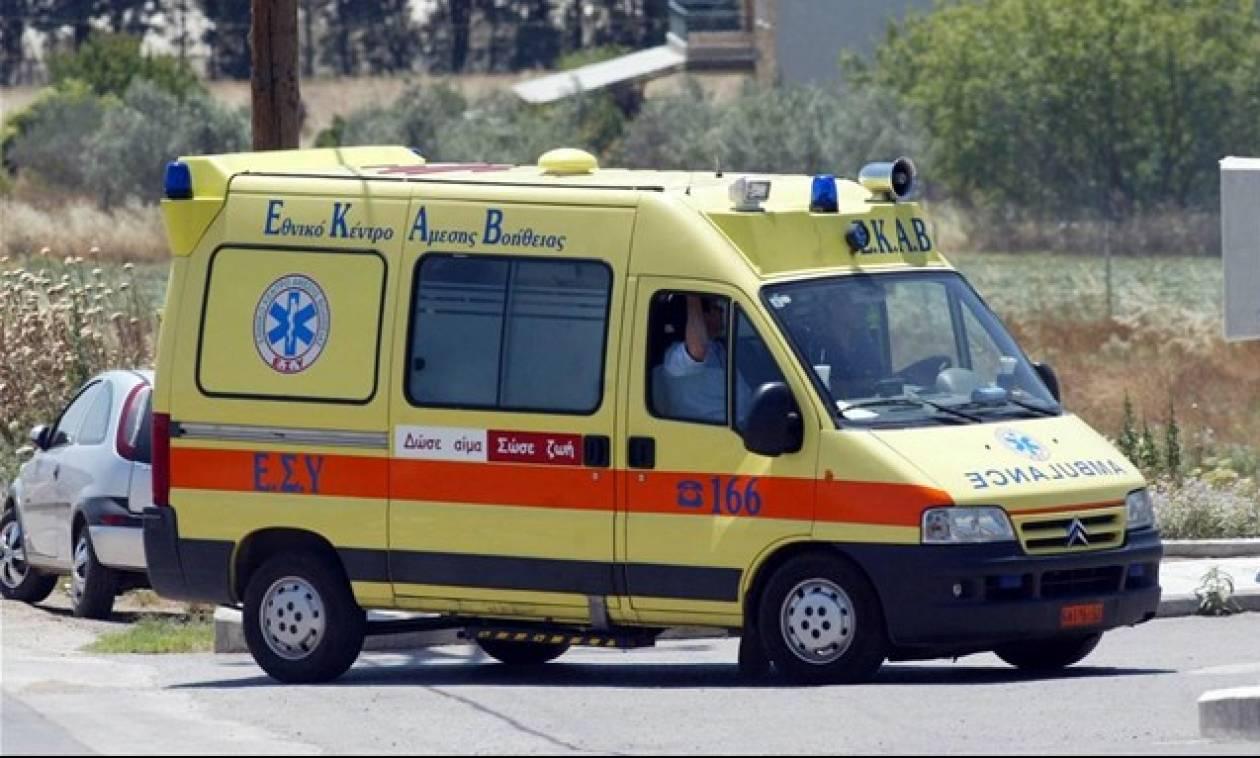 Σοβαρό τροχαίο στην Καβάλα: Σε κρίσιμη κατάσταση 23χρονος