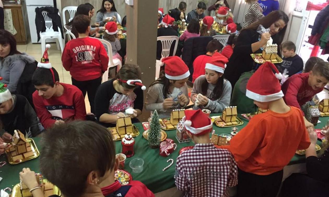 O κόσμος των γλυκών ζωντάνεψε στην Εύξεινο Λέσχη Χαρίεσσας (pics)
