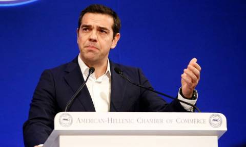 "PM Tsipras at AmCham conference: ""The hour of the Greek economy has arrived"""