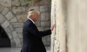 «Κήρυξη πολέμου» η αναγνώριση της Ιερουσαλήμ ως πρωτεύουσα του Ισραήλ από τον Τραμπ