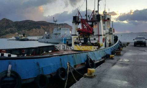 Tons of cannabis found on vessel south of Crete