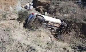 Σύμη: Βουτιά θανάτου για ηλικιωμένο οδηγό σε γκρεμό