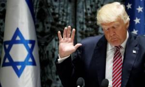 Ανένδοτος ο Τραμπ για την Ιερουσαλήμ: «Η απόφαση έπρεπε να είχε ληφθεί εδώ και καιρό»