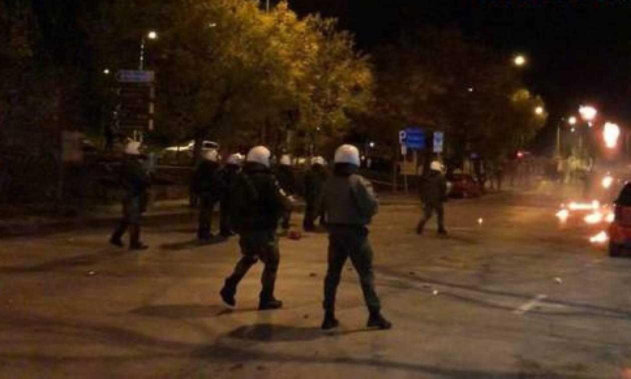 Επέτειος Γρηγορόπουλου: Μολότοφ, πετροπόλεμος και χρήση χημικών στη Θεσσαλονίκη (vid)