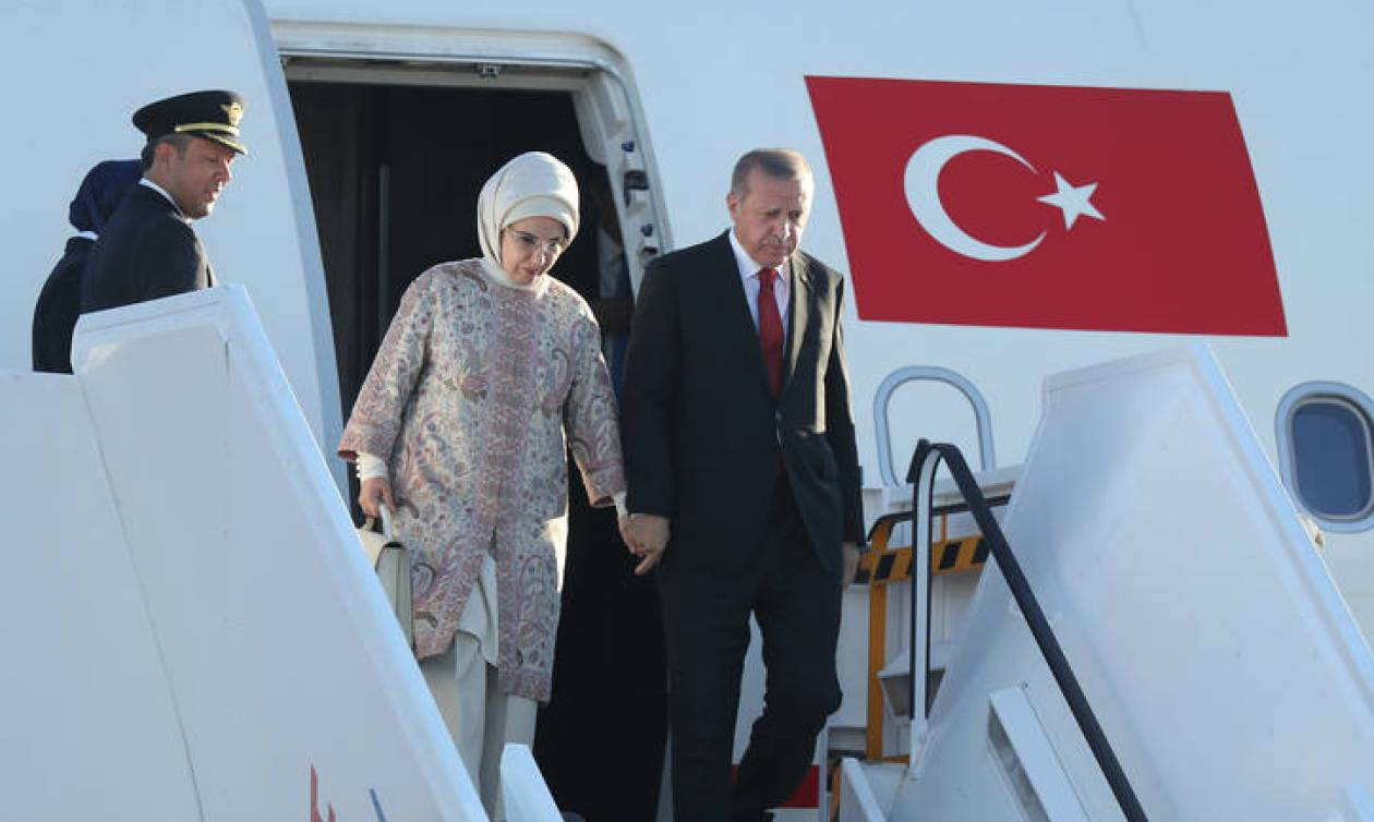 Επίσκεψη Ερντογάν: Πού θα πάνε στις 16:00 Περιστέρα Μπαζιάνα και Εμινέ Ενρτογάν