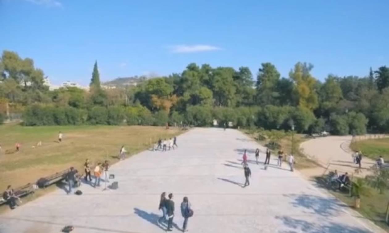 Το πιο παιχνιδιάρικο flash mob έγινε στο Πεδίον του Άρεως