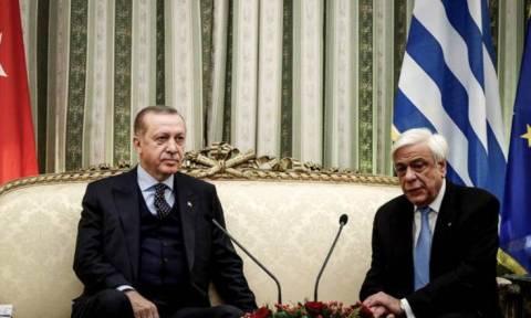 Παυλόπουλος σε Ερντογάν: Οι καλοί λογαριασμοί κάνουν τους καλούς φίλους