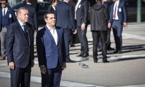 Καρέ-καρέ η επίσκεψη Ερντογάν στην Αθήνα (photos)