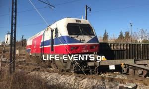 Εικόνες – ντοκουμέντο από τον εκτροχιασμό τρένου στη Θεσσαλονίκη (pics)