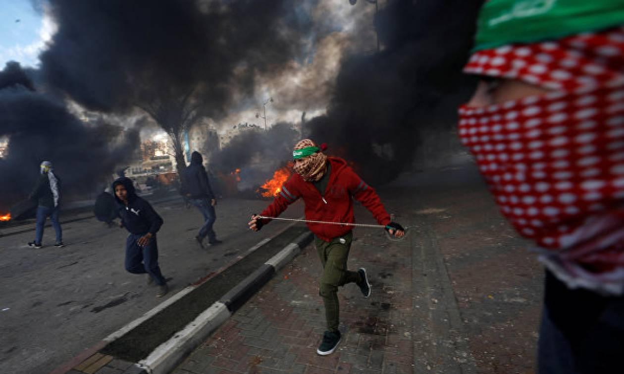 При стычках на Западном берегу и в секторе Газа пострадали более 50 человек