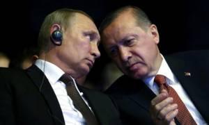 Έκτακτη τηλεφωνική επικοινωνία Ερντογάν – Πούτιν