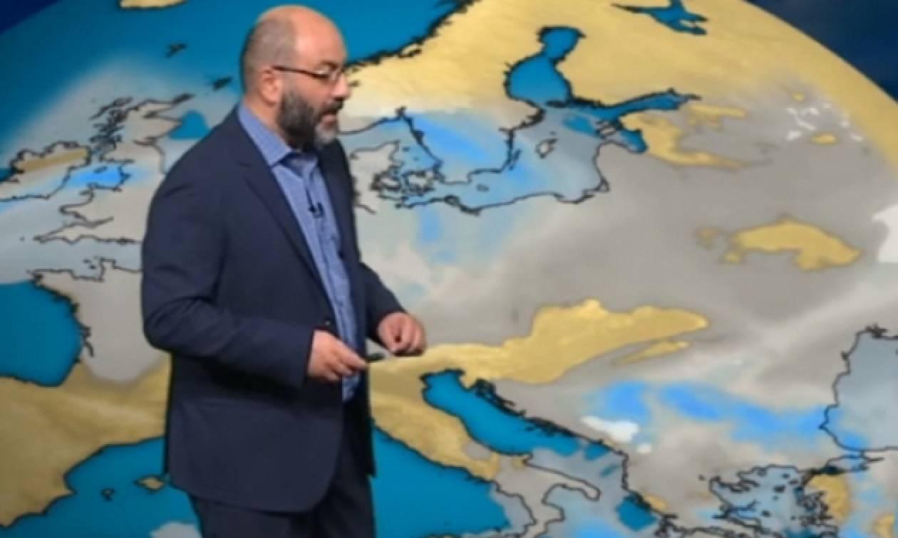Καιρός - Η προειδοποίηση του Σάκη Αρναούτογλου για επικίνδυνα φαινόμενα (video)
