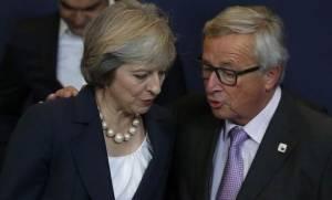 Αγωνία για το Brexit: Συνάντηση Γιούνκερ - Μέι στις Βρυξέλλες