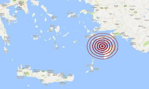 На Родосе произошло землетрясение 4,6 балла