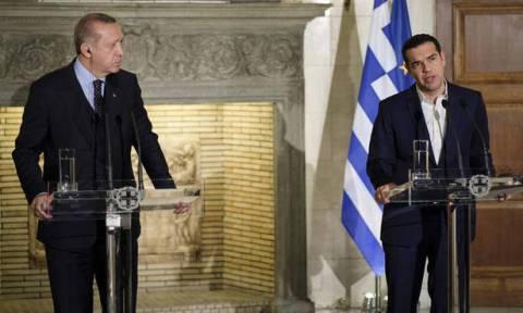 В Афинах состоялась совместная пресс-конференция при участии Ципраса и Эрдогана