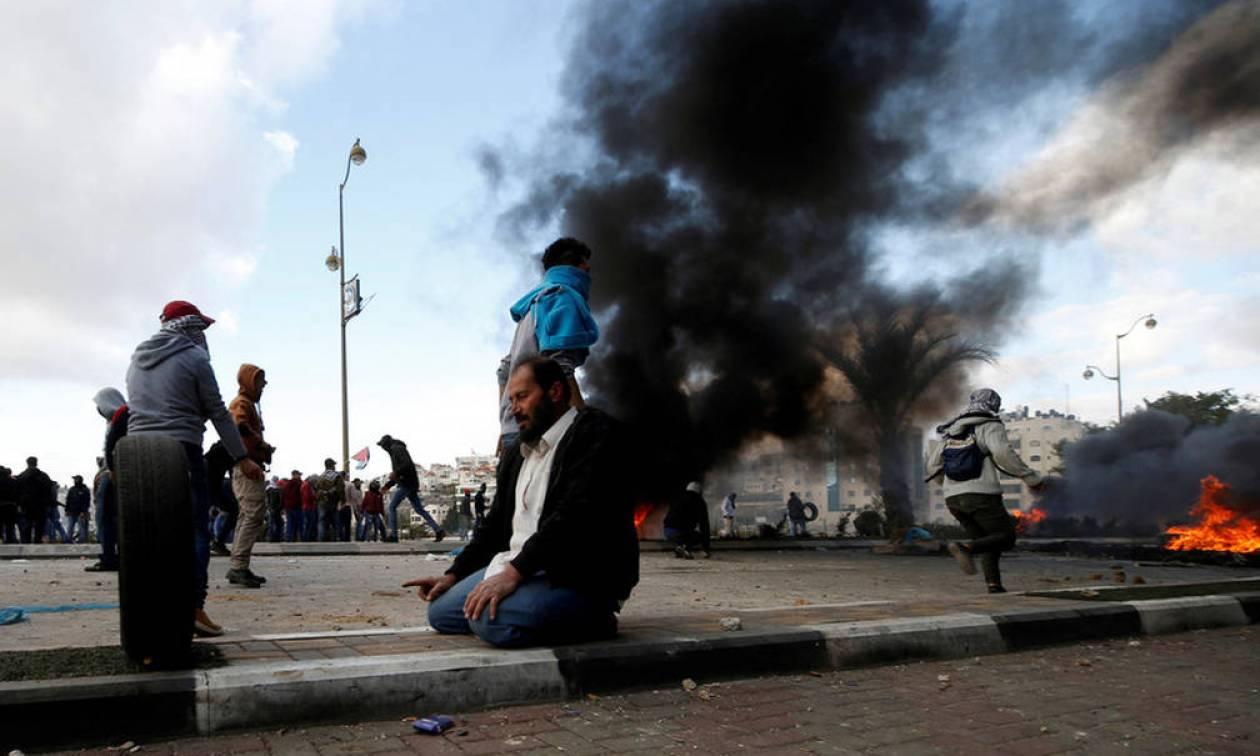 Πεδίο μάχης για δεύτερη ημέρα η Παλαιστίνη - Συγκρούσεις και τραυματίες