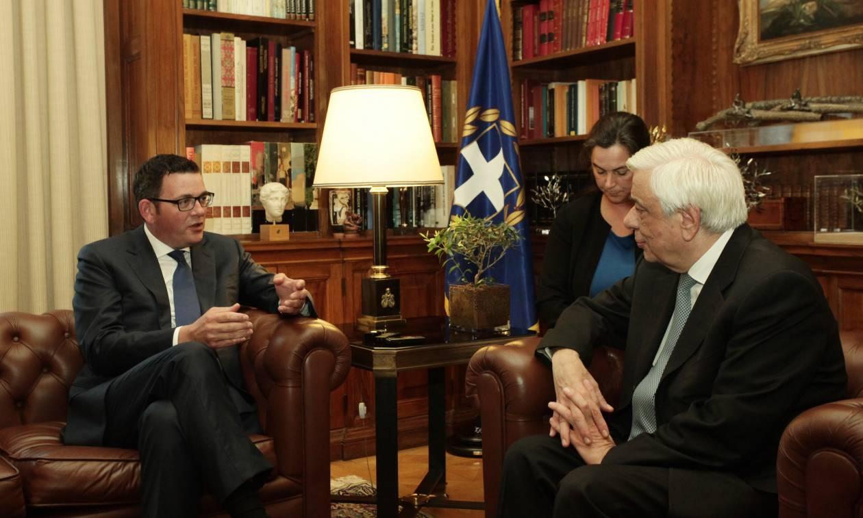 Προκόπης Παυλόπουλος: Αυτονόητο το αίτημα της Ελλάδας για επιστροφή των Μαρμάρων του Παρθενώνα