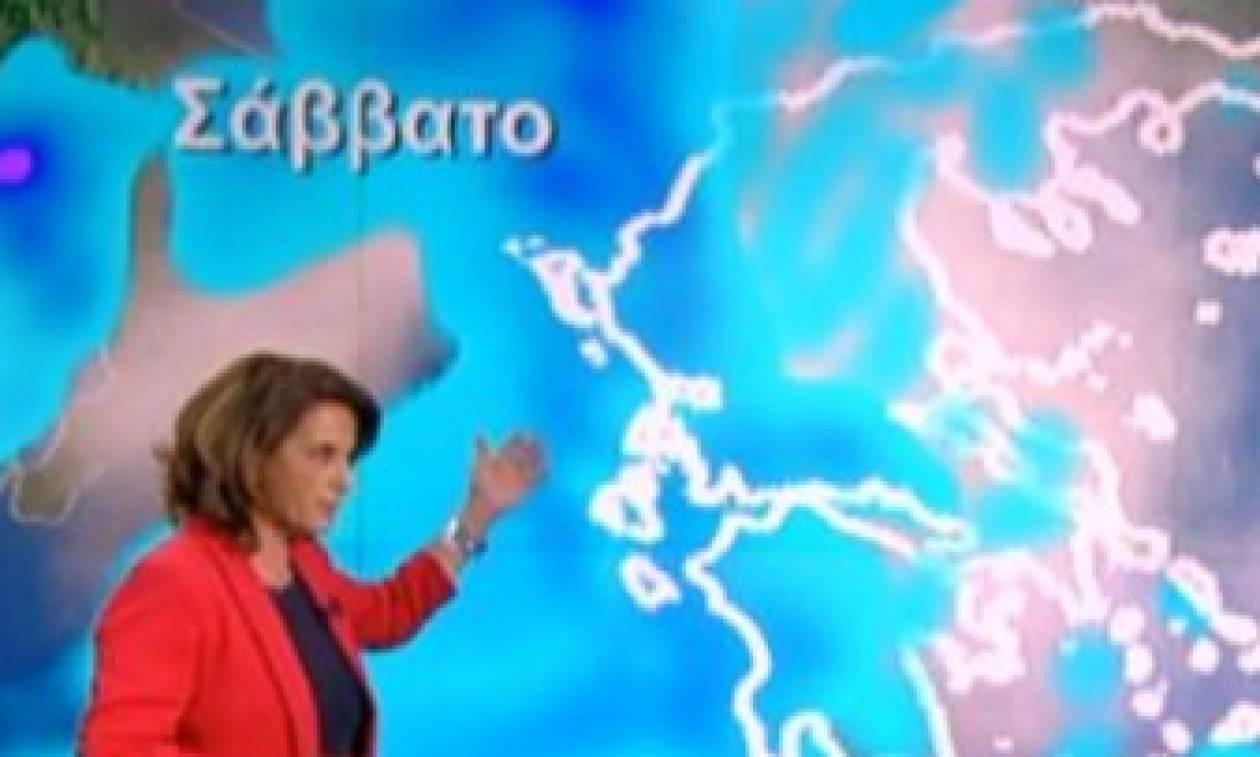 «Φόρτωσε» η Χριστίνα Σούζη on air: «Ή λέμε καιρό ή δεν λέμε...» (video)