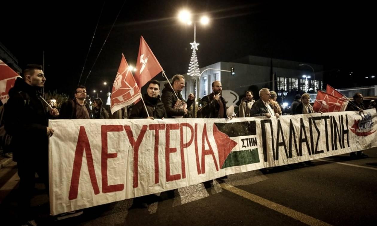 Ανοιχτοί οι δρόμοι στην Αθήνα μετά τις πορείες στην Αμερικανική πρεσβεία