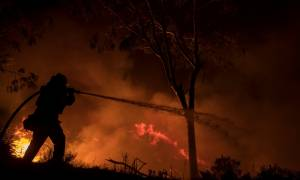 ΗΠΑ: Συνεχίζουν να καίνε ανεξέλεγκτες οι καταστροφικές πυρκαγιές στην Καλιφόρνια (vids)