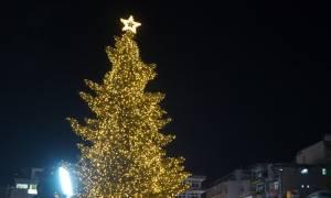 Χριστούγεννα 2017: Η Λαμία στόλισε το χριστουγεννιάτικο δέντρο της (pics&vid)