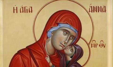 Αγία Άννα: Η προστάτιδα των άτεκνων ζευγαριών
