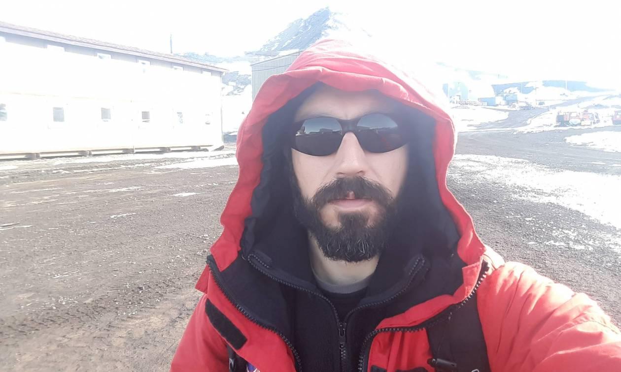 O Έλληνας γεωλόγος που ψάχνει για μετεωρίτες στην Ανταρκτική