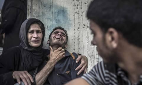 Με αίμα βάφτηκε η Παλαιστίνη: Τρόμος και πανικός στη Γάζα (ΠΡΟΣΟΧΗ! ΠΟΛΥ ΣΚΛΗΡΕΣ ΕΙΚΟΝΕΣ)