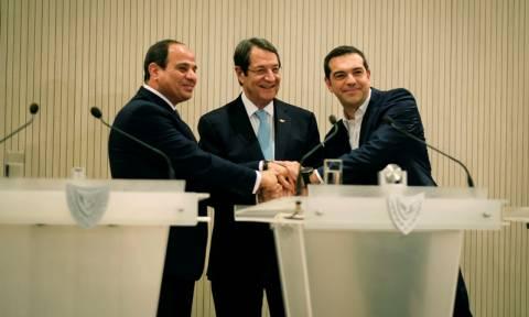 Κύπρος: Πρώτη τριμερής συνάντηση υπουργών Άμυνας Ελλάδας, Κύπρου και Αιγύπτου