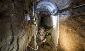 Ο Ισραηλινός στρατός κατέστρεψε σήραγγα της Χαμάς που έφτανε στο έδαφος του Ισραήλ
