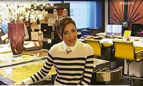 Σίσσυ Φειδά: Θα μείνετε με το στόμα ανοιχτό όταν δείτε το γραφείο της!