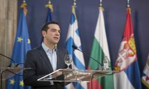 Τσίπρας για οδικά έργα: Στα 764 εκατ. ευρώ το όφελος για το ελληνικό Δημόσιο (vid)