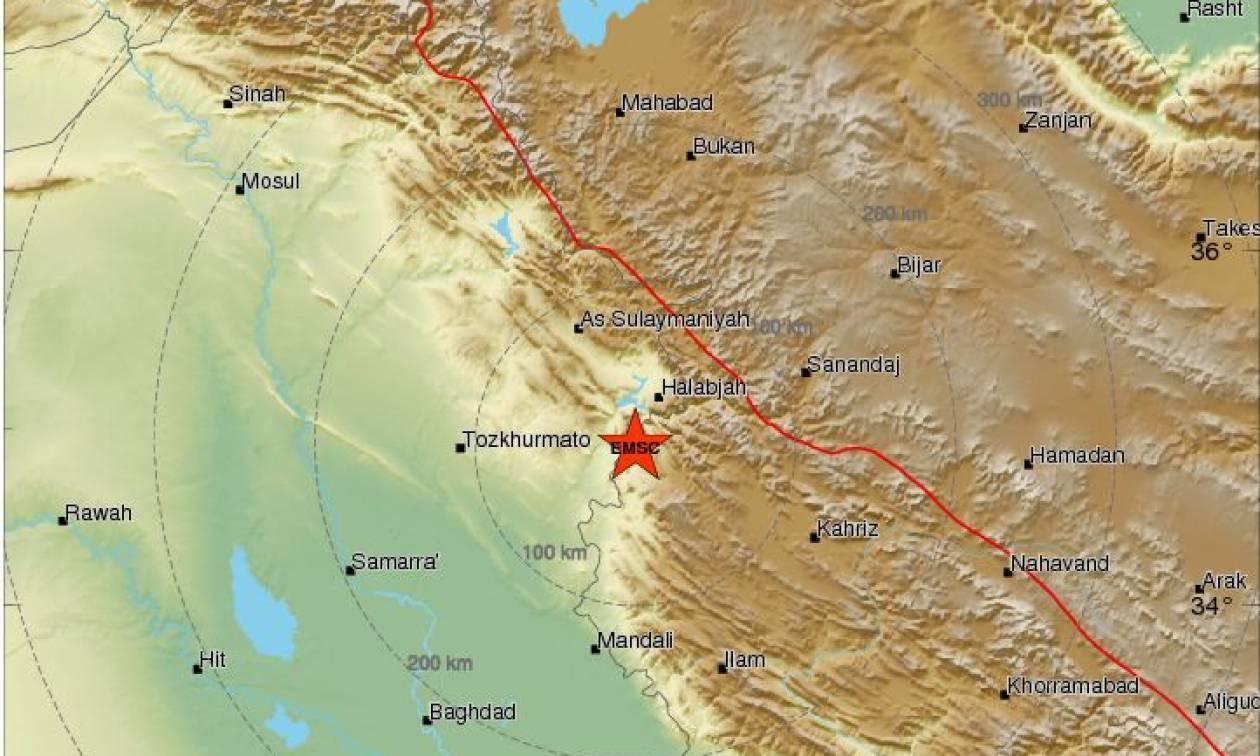 Ισχυρός σεισμός 6 Ρίχτερ συγκλόνισε το Ιράν