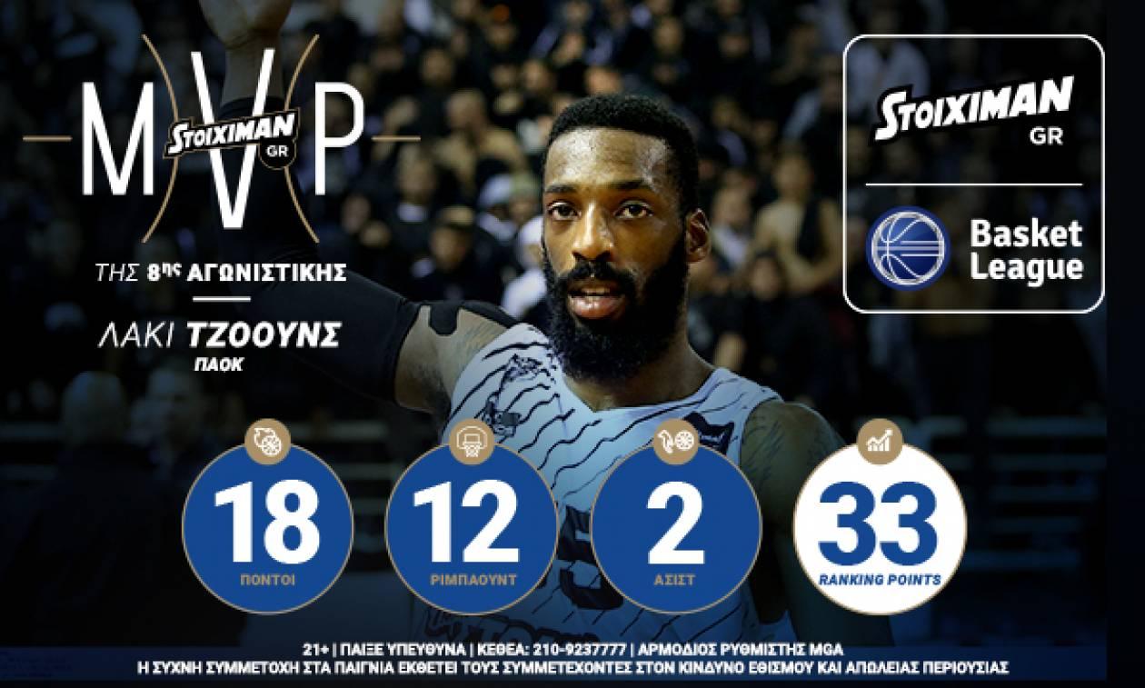 «Η διάκριση του Stoiximan.gr MVP μου δίνει δύναμη και αυτοπεποίθηση»