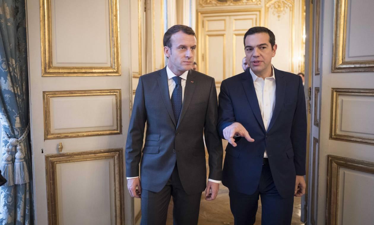 Στο Παρίσι ο Τσίπρας την Τρίτη (12/12): Συνάντηση με Μακρόν