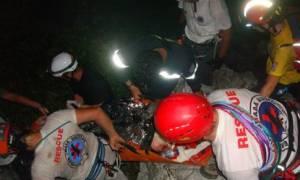 Αγωνία για τους δύο εγκλωβισμένους ορειβάτες στον Όλυμπο