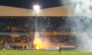 Χάος στην Κύπρο: Απίστευτα επεισόδια στο ΑΕΛ-ΑΠΟΕΛ (videos)