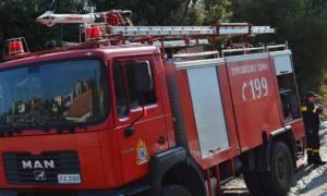 Έκρηξη σε βενζινάδικο: «Μου έβαλαν βόμβα» λέει ο πρατηριούχος